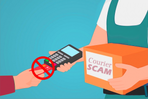 it is easy to fall for courier fraud