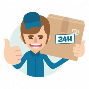 more and more courier services make sameday delivery available