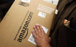 Last mile delivery offered by Amazon using FedEx