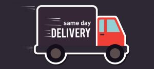 Sameday delivery is becoming to have the most demand in the online community