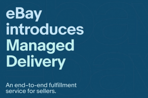 The introduction of eBay Managed Delivery in the United States