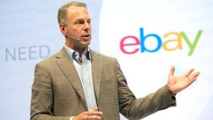 Devin Wenig, eBay President and CEO.