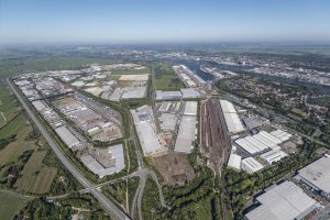 new logistics center in Germany