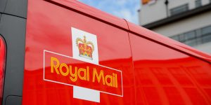 Royal Mail delivery van