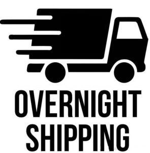 Overnight (24h) shipping