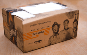 Branding packaging Amazon prime
