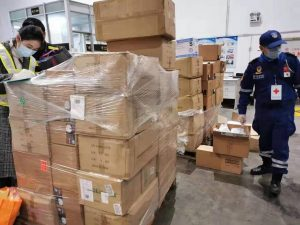 Can you get the coronavirus via packages from China?