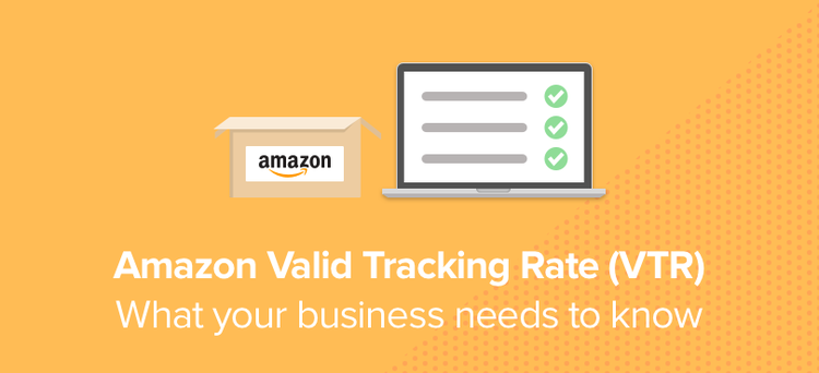 Amazon Valid Tracking Rate from the 19th of April